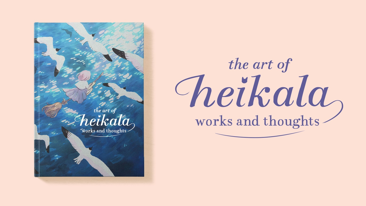 A beautifully presented hardback art book featuring a collection of Heikala's best work.
