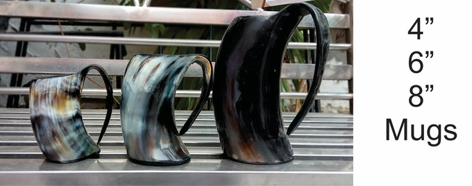 """6"""" mugs included with $75 and above reward levels!"""
