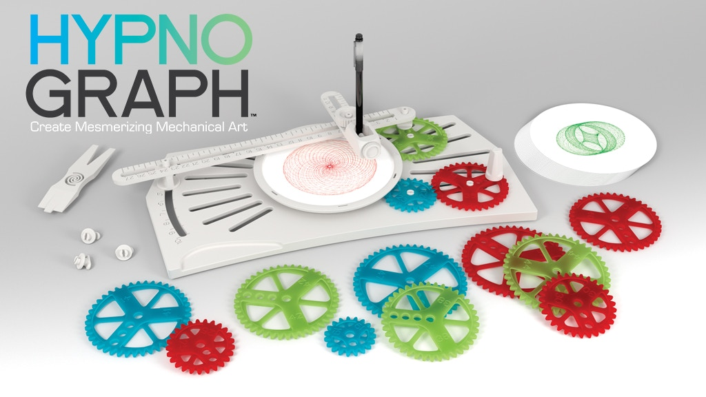 The Hypnograph Drawing Machine