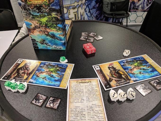 Bones of the Caribbean Demo Game at Origins 2018