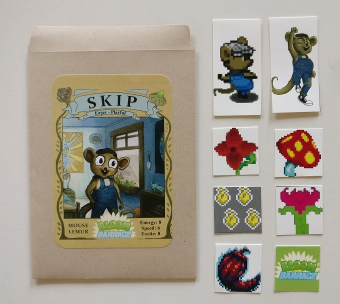 Skip the Mouse Lemur collectable seed packet.