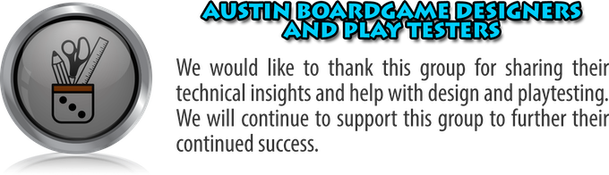 Austin Board Game Designers and Play Testers