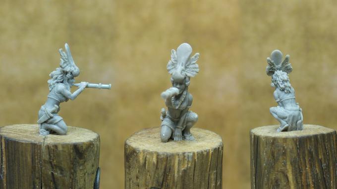 'Tryl Scout' (Koga) Sculpt