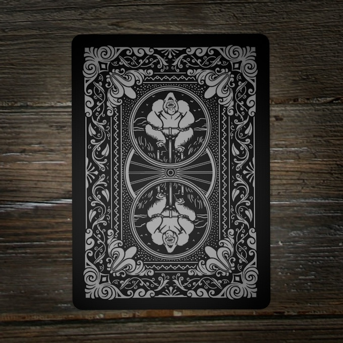 Card Back - Silver Foil!