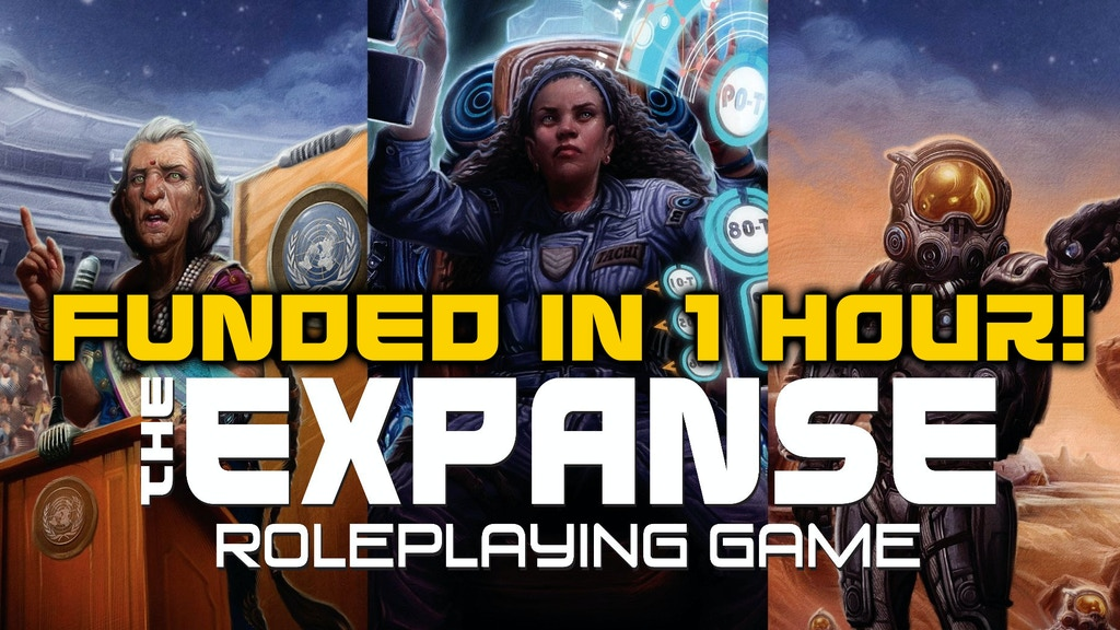 The Expanse Roleplaying Game project video thumbnail