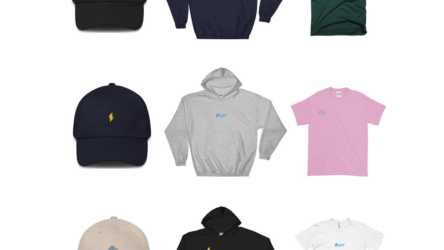 Rair is an up-and-coming underground streetwear clothing brand based out of San Antonio, TX with minimalistic & embroidered designs.