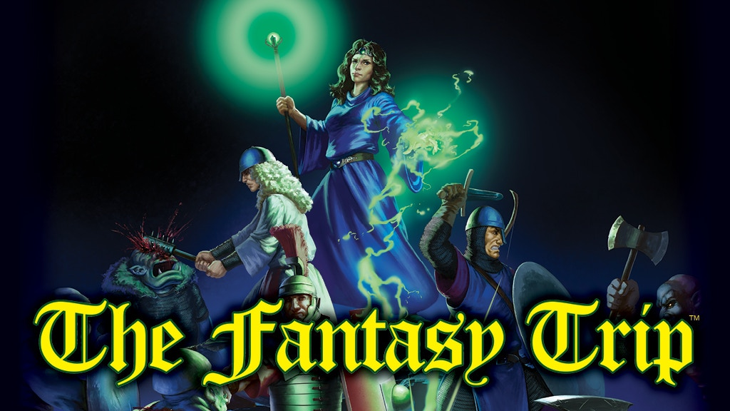 THE FANTASY TRIP – Old-School Roleplaying! project video thumbnail