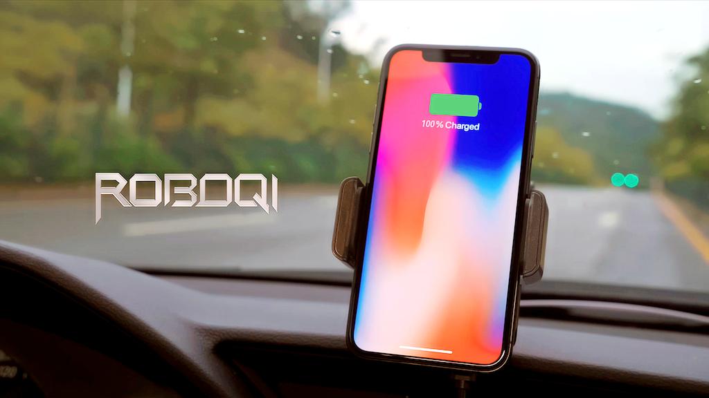 Miniatura del video del progetto ROBOQI - World's Most Advanced Fast Wireless Charger