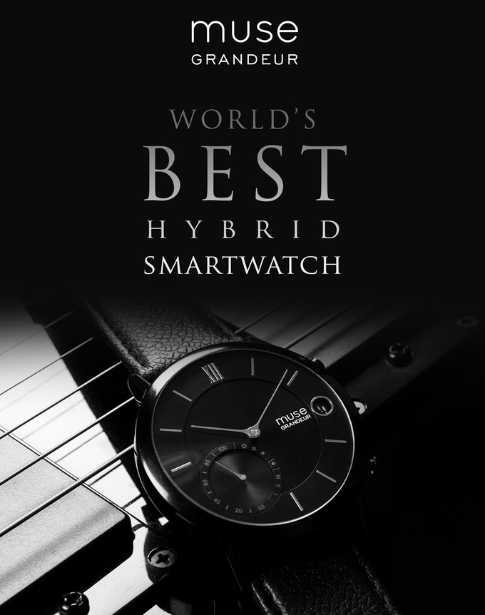 The World's Best Hybrid Smartwatch - Muse Wearables by Muse