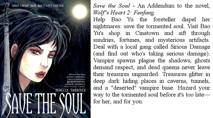 Save the Soul, a Bloodtooth module