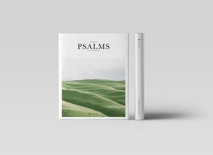 Hardcover Book of Psalms
