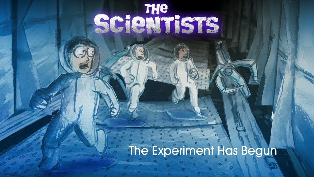 The Scientists 1 & 2:Kids must escape from a dark experiment project video thumbnail