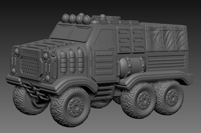 HAWG Support Vehicle - kinda big..