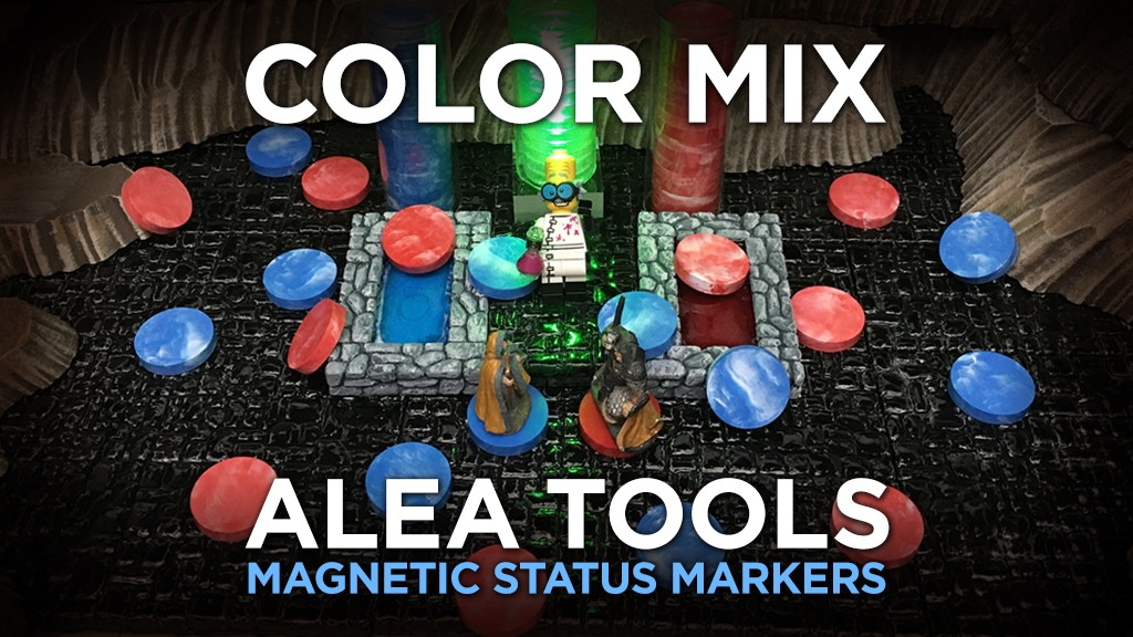 Alea Tools: Color Mix Magnetic Status Markers for RPG project video thumbnail