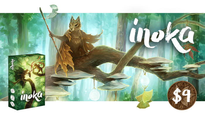 Long ago, the forest's most enlightened creatures, the Inoka, clashed in a game of strategy & wits to become Nature's Emissary.