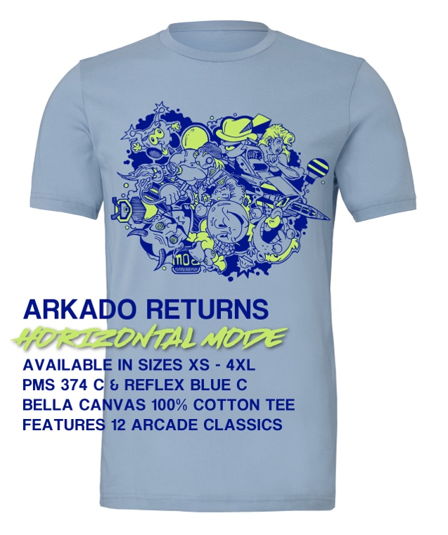 ARKADO RETURNS: HORIZONTAL MODE