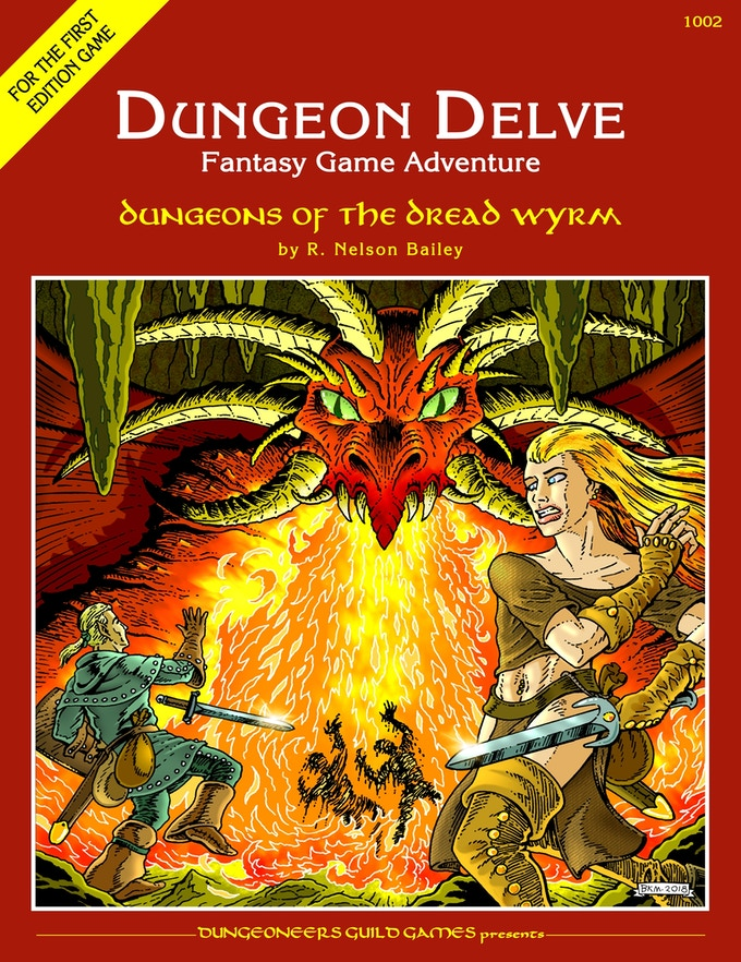 DD2 cover with artwork by Bradley K. McDevitt.