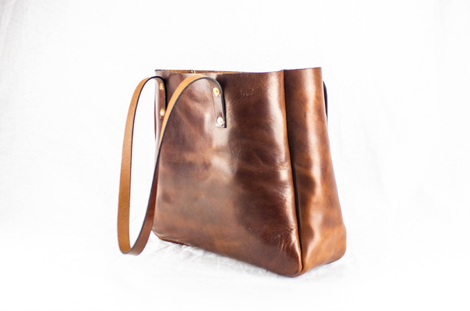 The Atlantic Tote: Side View