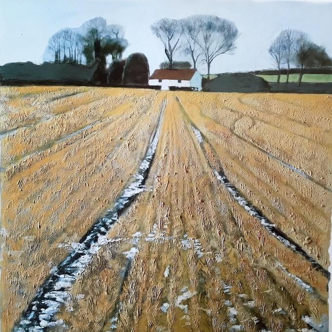 Winter Landscape, Lincolnshire
