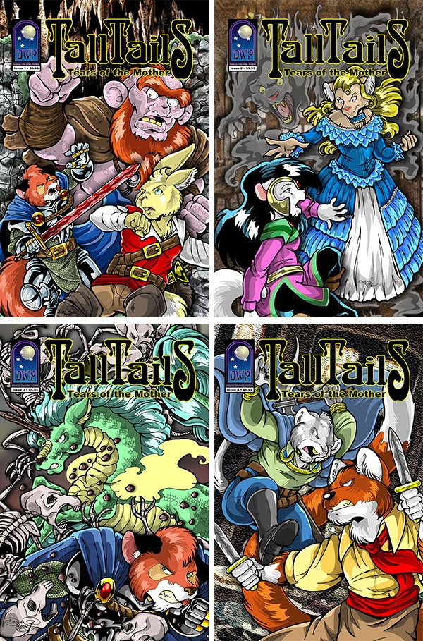 TALL TAILS: Tears of the Mother Issues 3 & 4 by JD Calderon