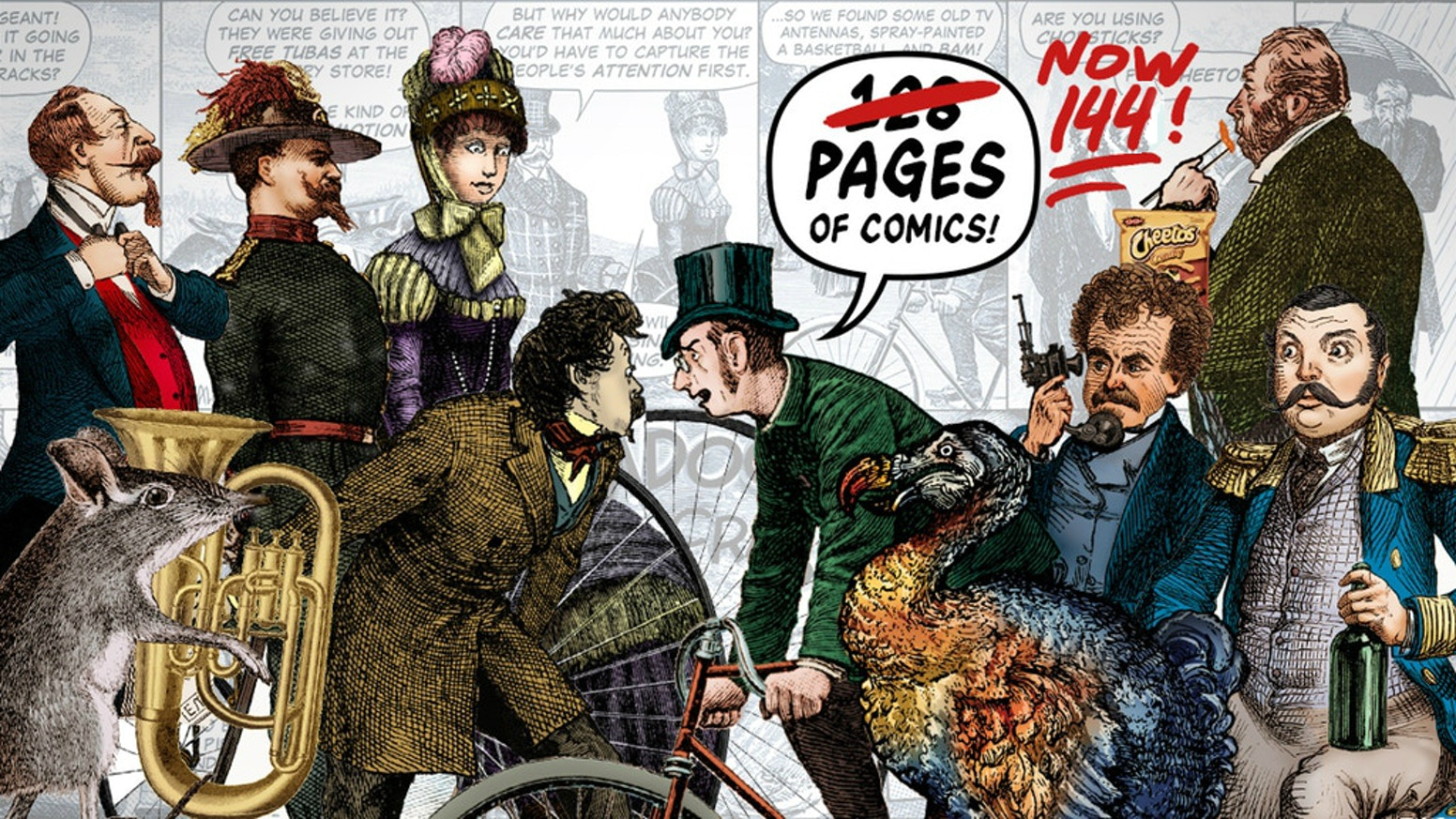 FRIENDS YOU CAN RIDE ON : A new Wondermark hardcover book