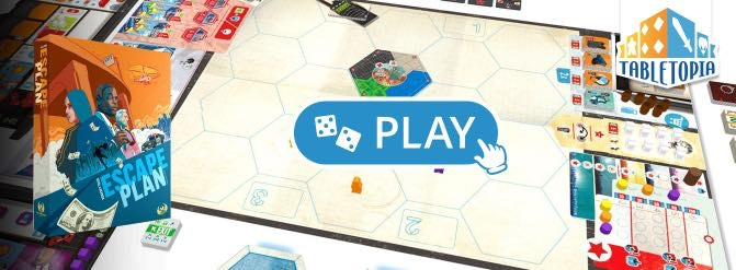 Click to try Escape Plan on Tabletopia for FREE!