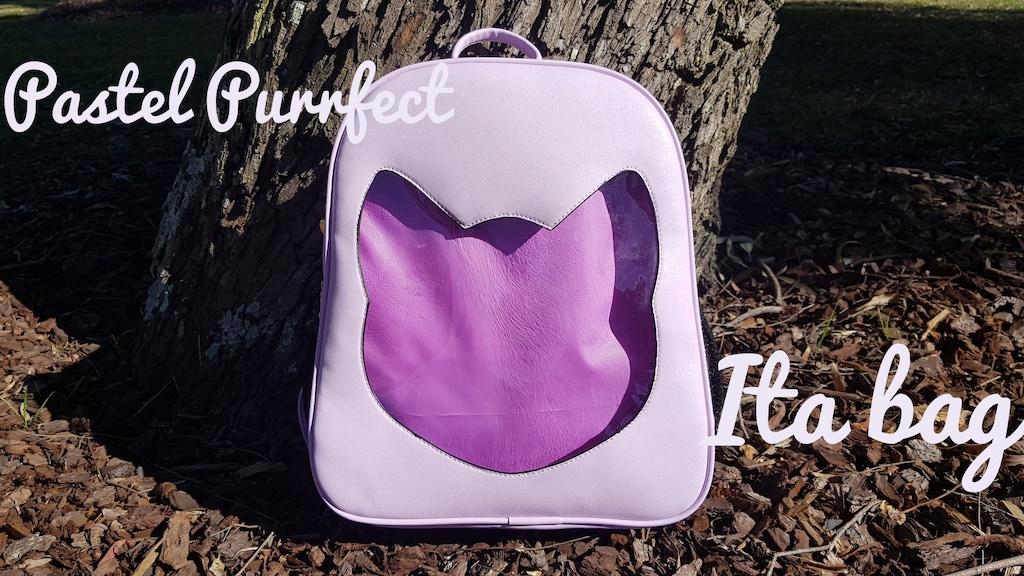 Cat themed ita bag