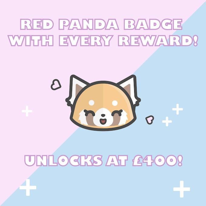Red Panda Badge Stretch Goal!