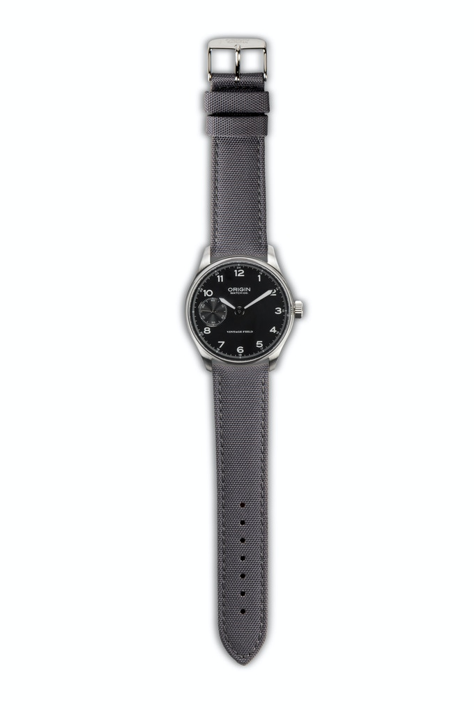 Vintage Field Watch 2nd Edition Black Dial
