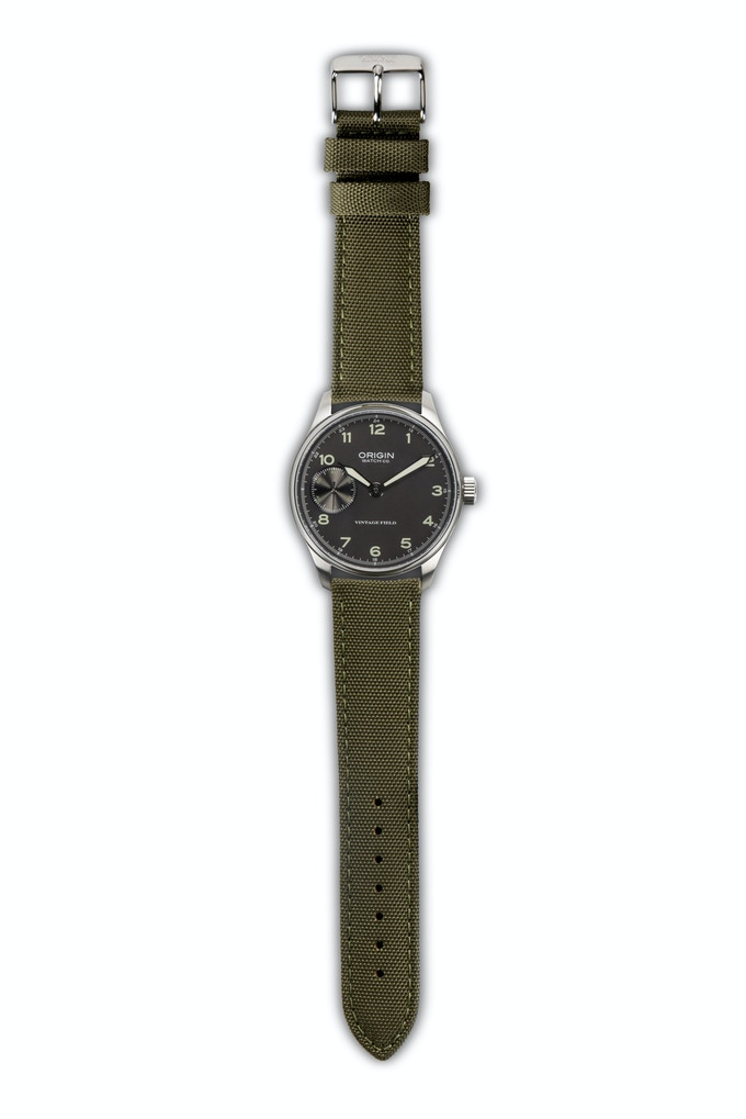 Vintage Field Watch 2nd Edition Grey Dial