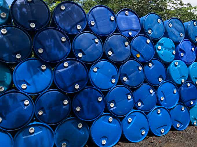 A report published by the EPA found nearly 7.6M food safe plastic barrels are produced each year.