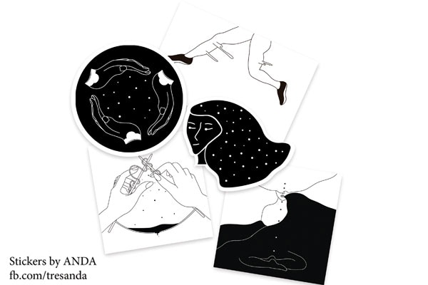 $100 MXN - Stickers pack by ANDA