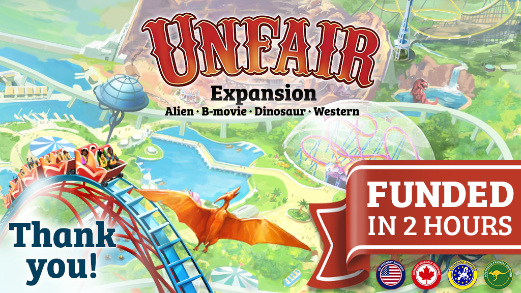Unfair expansion - Alien, B-movie, Dinosaur, Western project video thumbnail