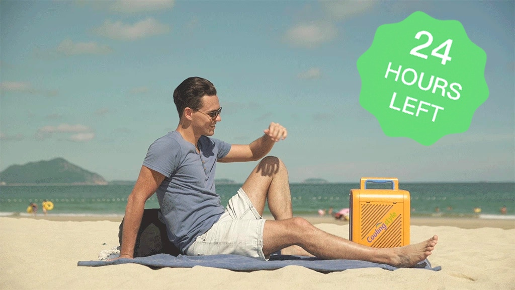 Coolingstyle, The Coolest Portable Air Conditioner Ever! project video thumbnail