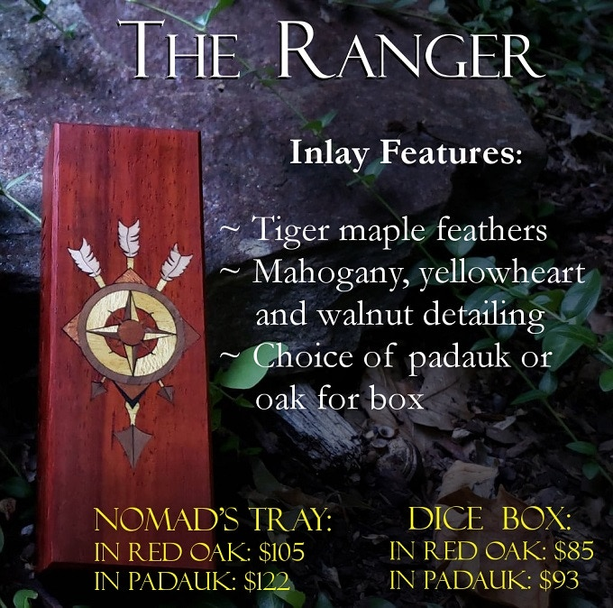 All inlay options include cost of box/tray