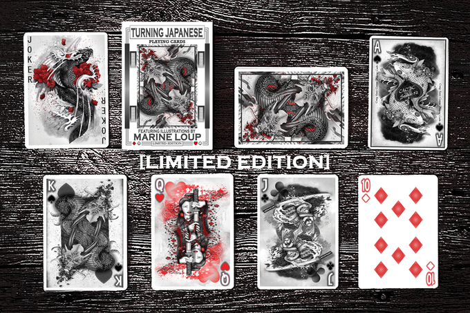 Available now in this Kickstarter (Limited to just 250 decks)