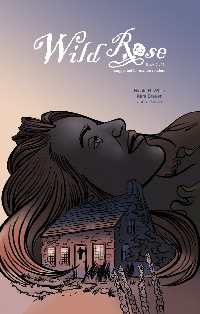 Issue #2 cover variant created by Jono Doiron (colors/letters/cover for issue #1)