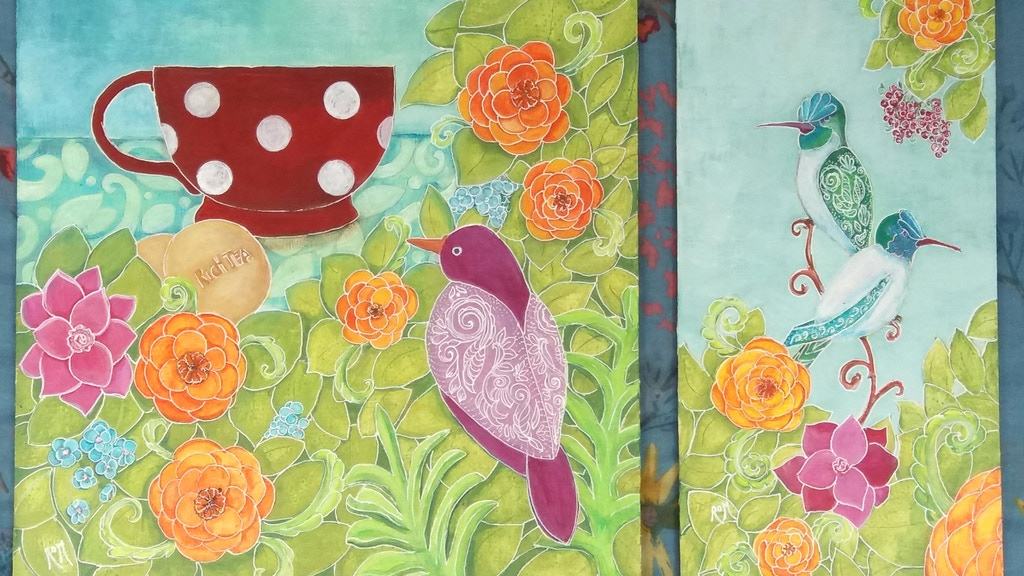 Two Limited Edition Prints of Originals by Róisín O Meadhra