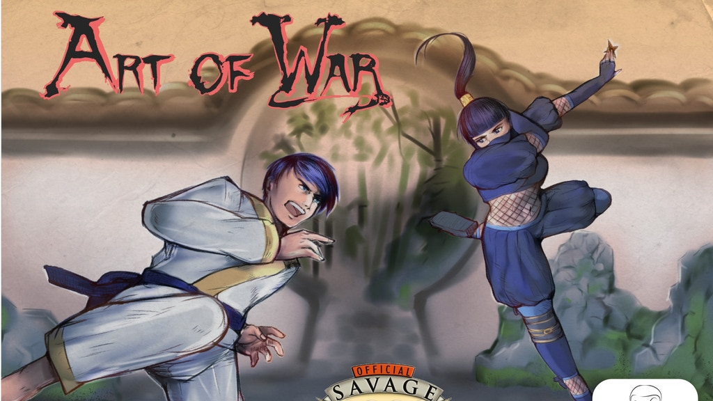 Art of War (relaunch): The Martial Arts Setting in a Fantasy Anime World. Powered by Savage Worlds.