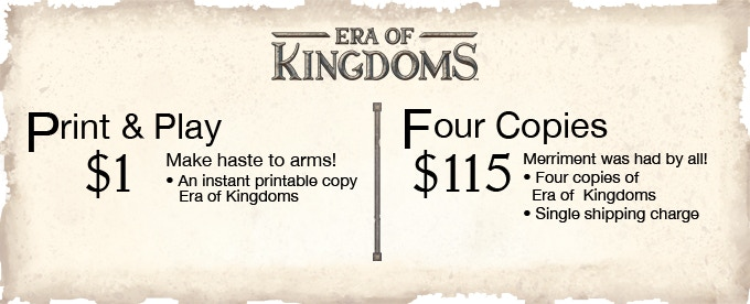 Era Of Kingdoms By Michael Erisman Kickstarter