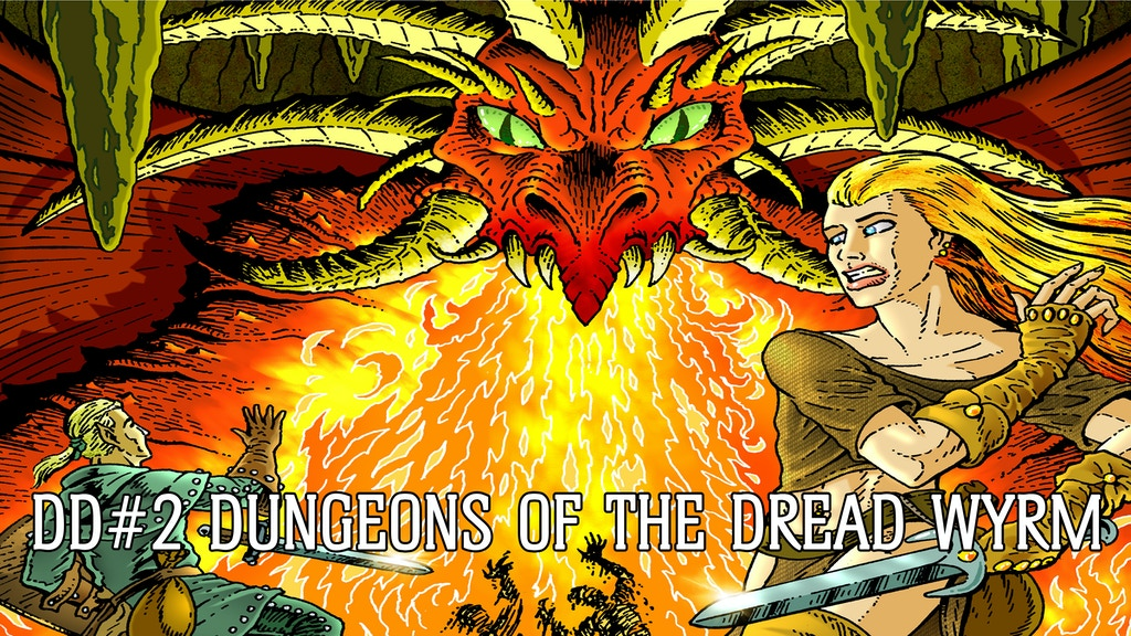Dungeon Delve #2: Dungeons of the Dread Wyrm project video thumbnail
