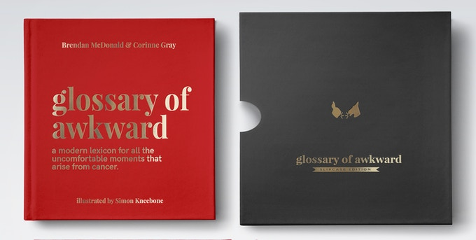 Deluxe | 5.4 x 4.5 inches. Hardcover with gold foil + Limited Edition Slipcase. 100% recycled paper.