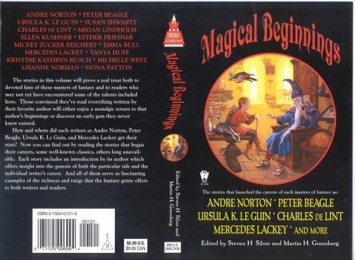 """Magical Beginnings"" edited by Steven H Silver & Martin H. Greenberg"