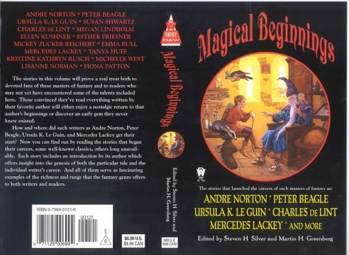 """Magical Beginnings"" edited by Steven H Silver & Martin H. Greenberg"