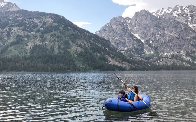 Get your kids paddling