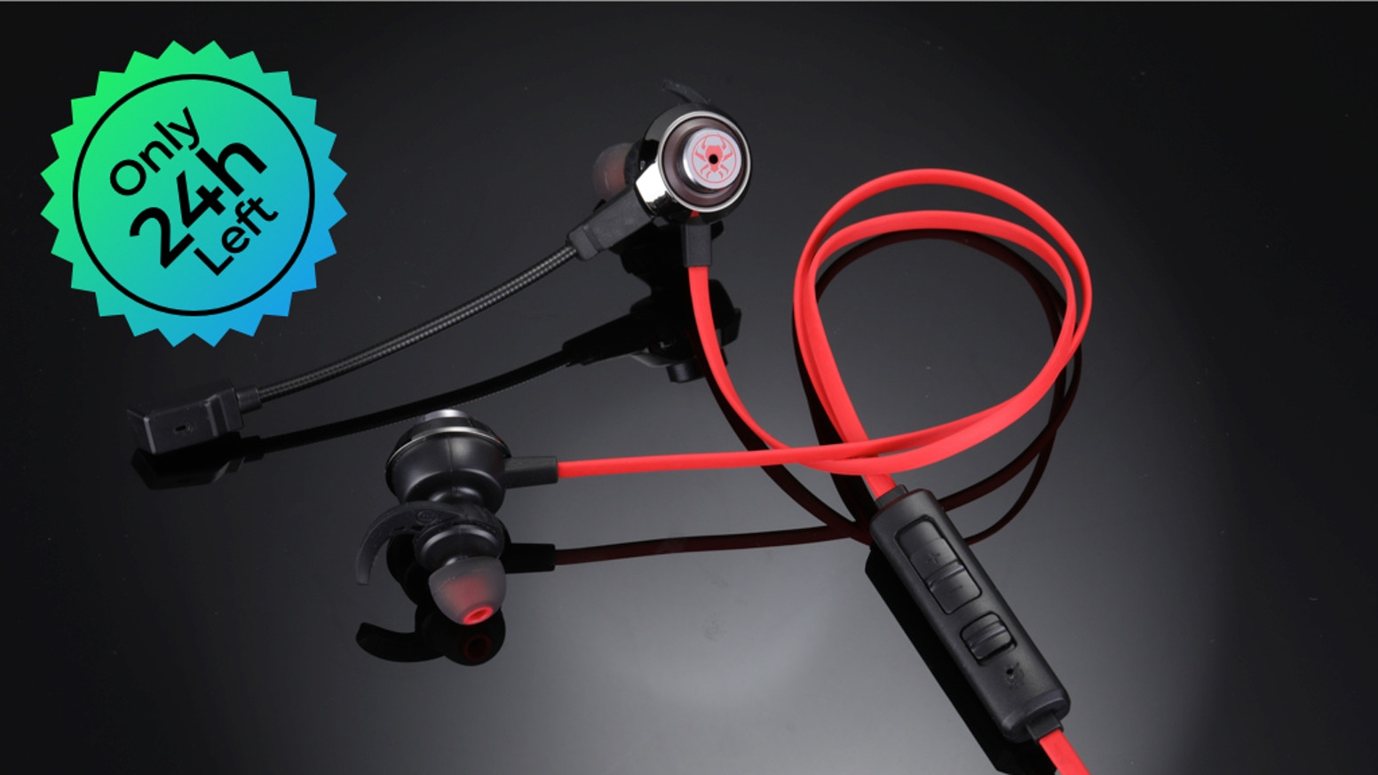 Quake:Lightest Virtual 7 1 Gaming Earbuds with Vibration by Quake