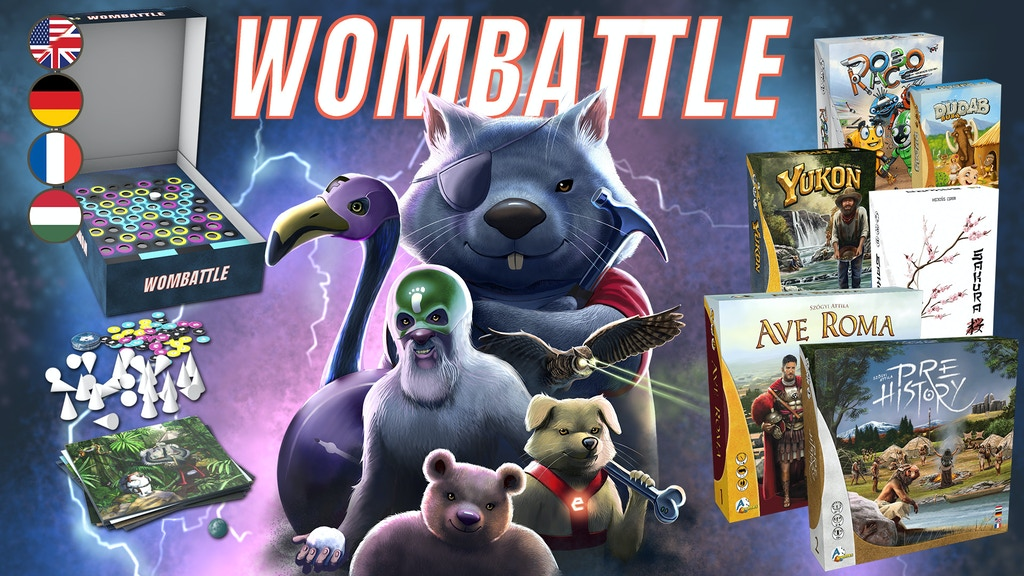 Wombattle project video thumbnail