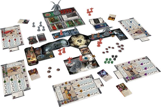 Afbeeldingsresultaat voor Cthulhu Death May Die boardgame