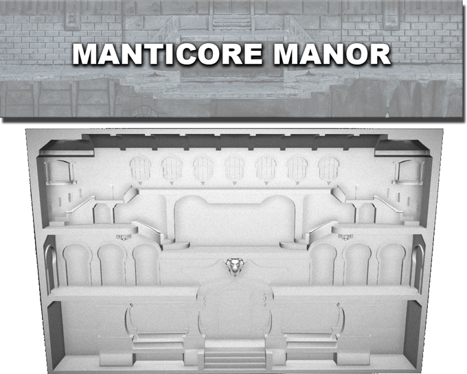 Manticore Manor Work In Progress