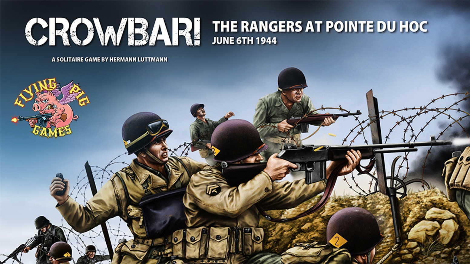 Crowbar is a thrilling solitaire game recreating the assault against the Germans defending Pointe Du Hoc on June 6th, 1944.